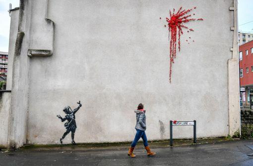 Banksy schenkt Bristol ein neues Streetart-Werk
