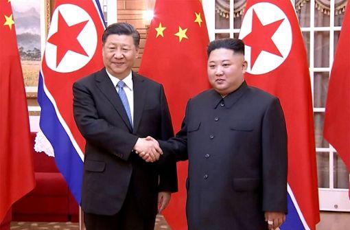 China und Nordkorea demonstrieren Nähe