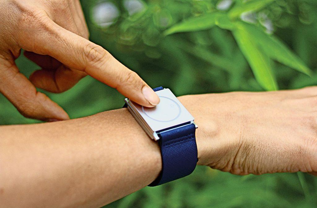 Ein digitales Armband liest die Signale des Körpers: für Epileptiker ist das lebensrettend. Foto: Empatica