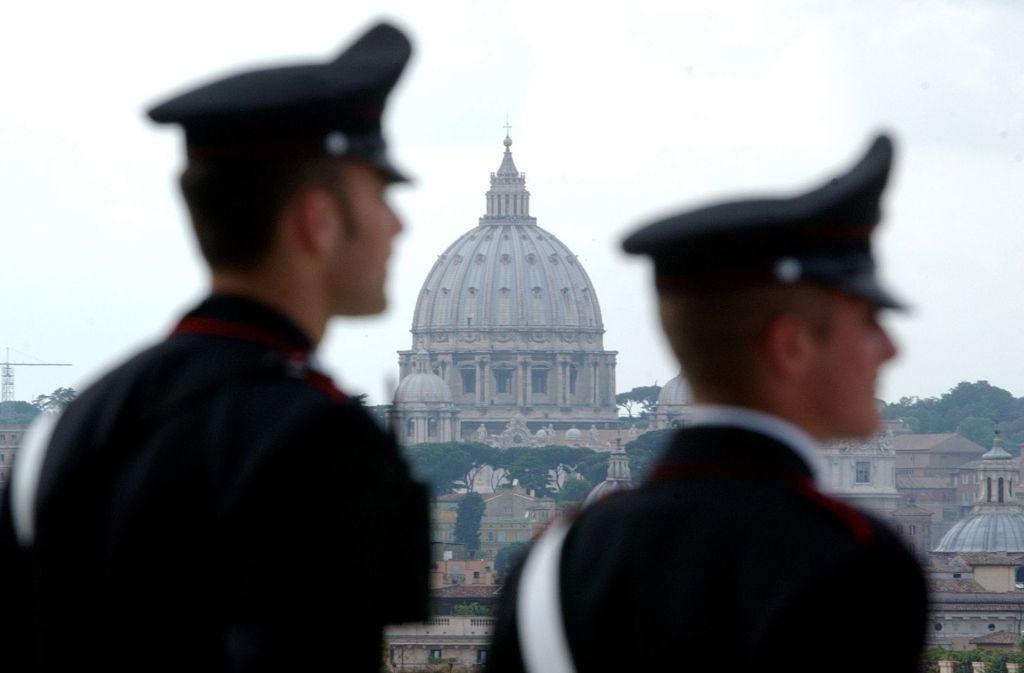 Die italienische Polizei hat einen Giftmörder dingfest gemacht. Foto: AP