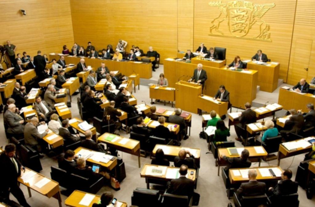Baden-Württembergs Landtag: Wie viel sollen die Abgeordneten verdienen? Foto: dpa