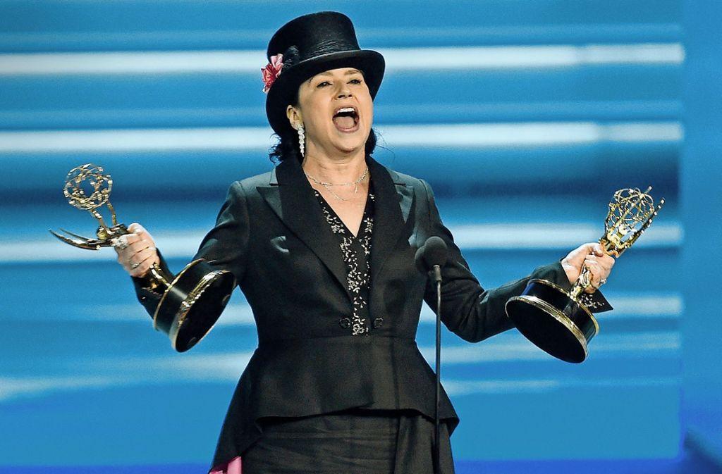 "Amy Sherman-Palladino kann ihr Glück kaum fassen: ""The Marvelous Mrs. Maisel"" bekommt 5 Emmys.Foto:dpa Foto:"