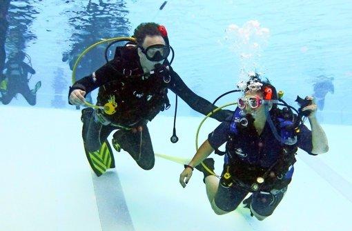 Der Weg ins Unterwasser-Wunderland