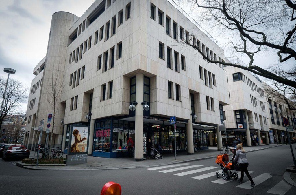 An dieser Ecke des Schwabenzentrums könnte es Veränderungen geben. Foto: Lg/Zweygarth