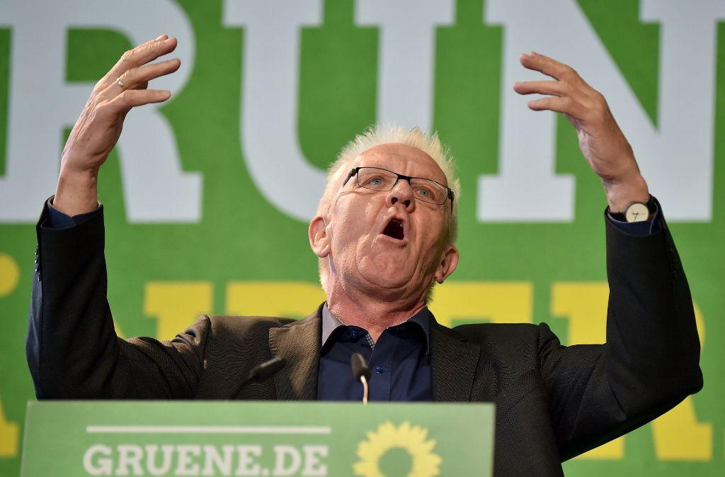 Kritisiert wegen seiner Analyse der Bundestagswahl: Winfried Kretschmann Foto: dpa