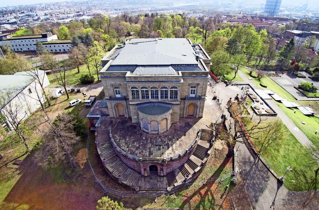 Soll in Zukunft hauptsächlich als Haus für Musik genutzt werden: die Villa Berg Foto: 7aktuell.de/Gerlach