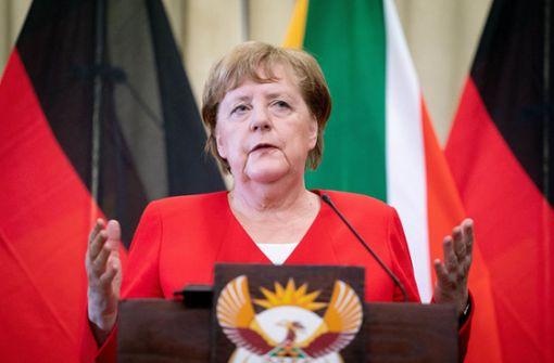 Trotz Korruptionsskandal will Merkel  Investitionen  fördern