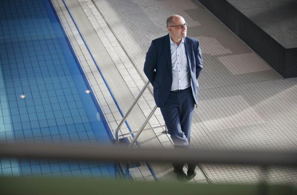 Der Geschäftsführer der Stadtwerke Schorndorf, Andreas Seufer, verlässt das Unternehmen. Foto: Gottfried Stoppel/Archiv