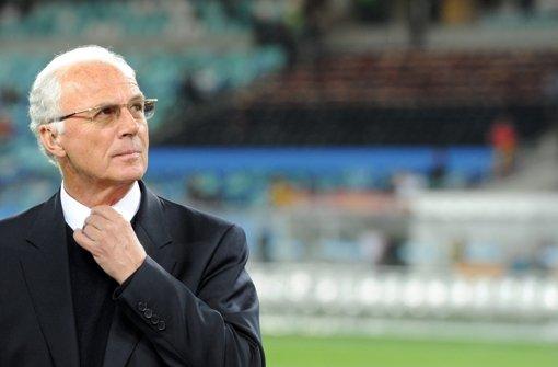 Beckenbauer gibt Rückendeckung