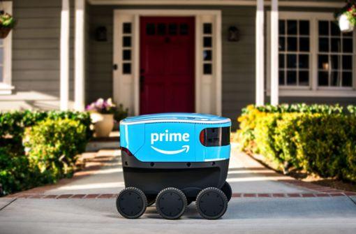 Amazon schickt Lieferroboter zu den Kunden