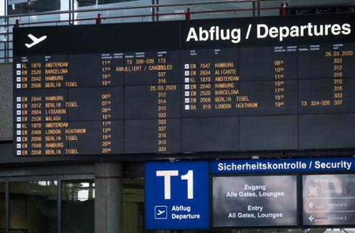 Trübe Aussichten am Airport – trotz Rekords