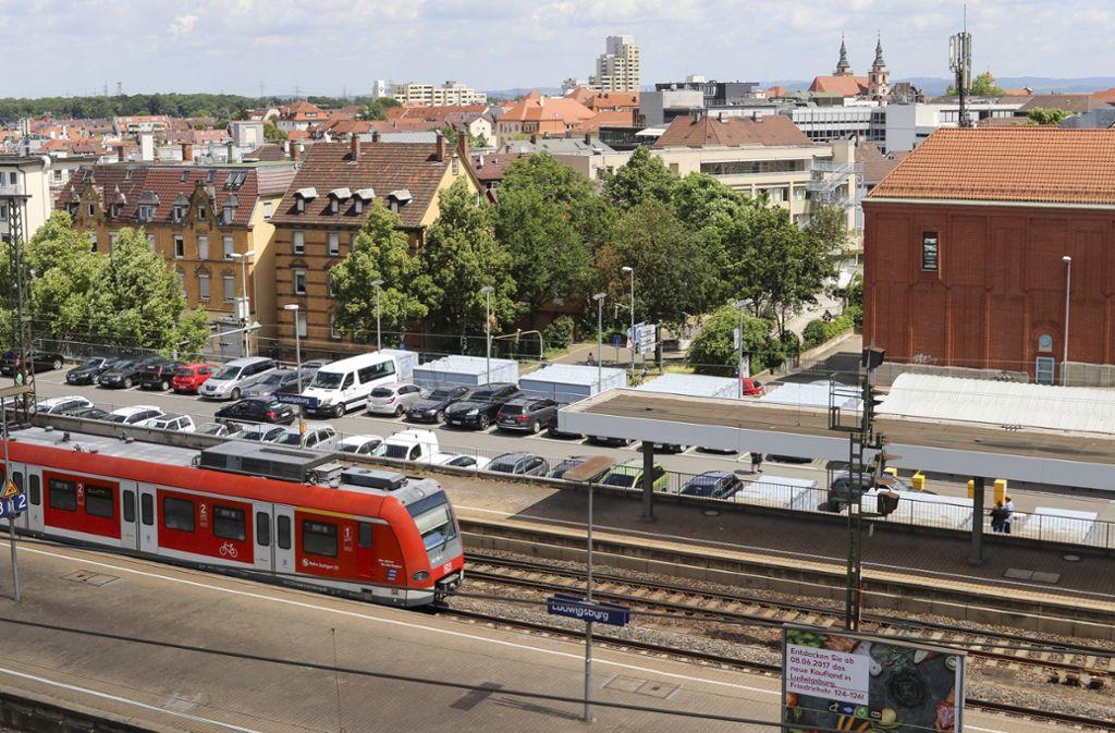 Am Ludwigsburger Bahnhof soll 2030 auch eine Stadtbahn vorbeifahren. Foto: factum/Granville