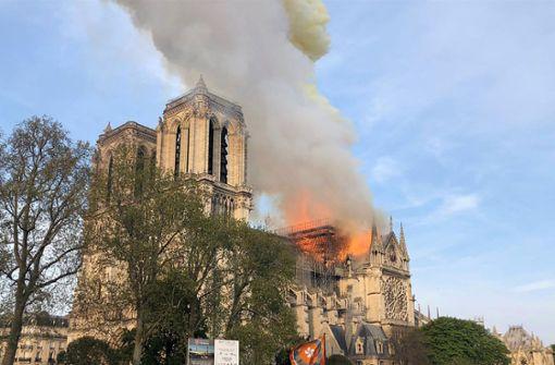 Feuerdrama um Notre Dame wird als Miniserie produziert