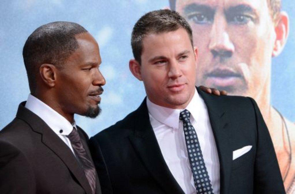 Der Sexiest Man Alive 2012: Channing Tatum (rechts). Foto: dpa