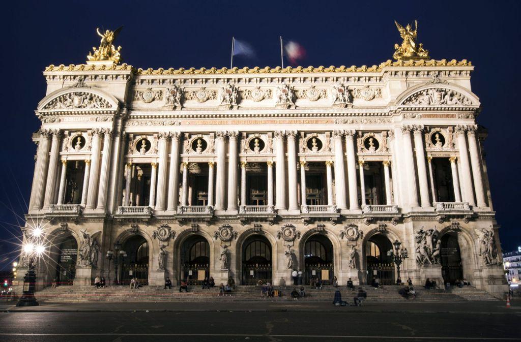 Der Palais Garnier, die alte Pariser Oper Foto: dpa/Etienne Laurent