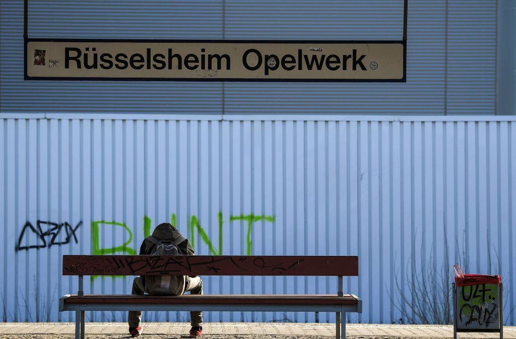 Bei Opel geht wieder die Angst um die Arbeitsplätze um. Foto: dpa