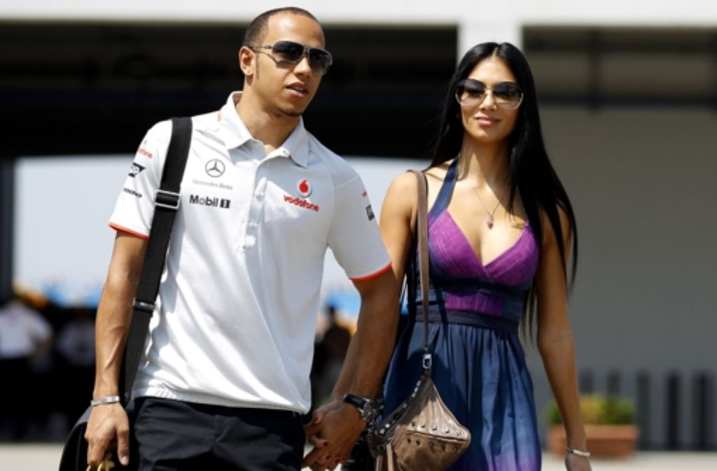 Zwischen Ex-Pussycat-Doll Nicole Scherzinger und Mercedes-Pilot Lewis Hamilton soll es mal wieder Schluss sein. Es wäre bereits die vierte Trennung des Paares seit 2007. Foto: dpa