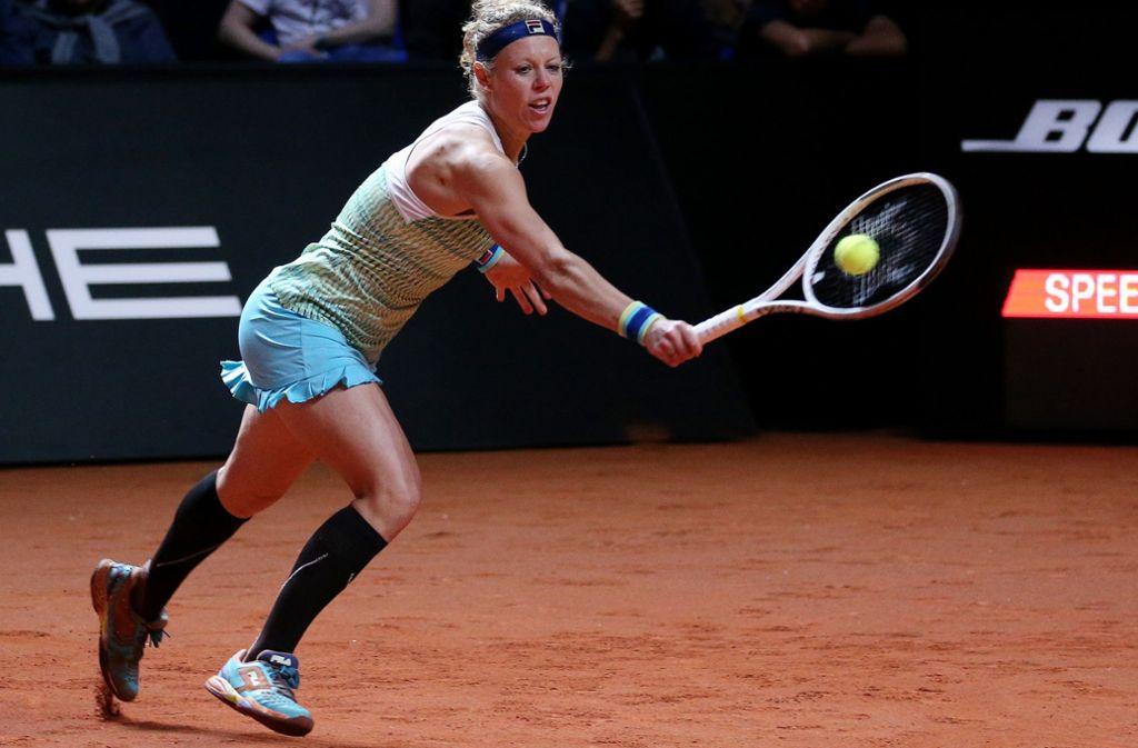 Laura Siegemund hat in Luxemburg das Viertelfinale erreicht. Foto: Pressefoto Baumann/Julia Rahn