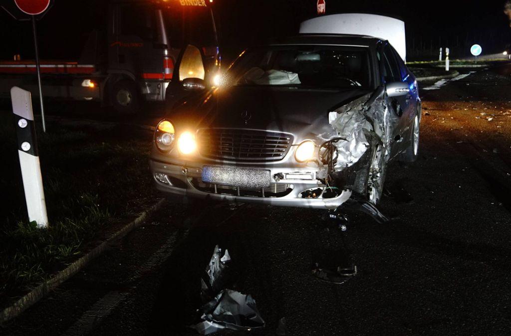 Bei einem Unfall bei Kirchheim  ist ein Schaden von 46000 Euro entstanden. Foto: 7aktuell.de/Hessenauer