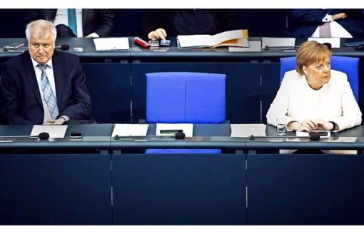 Das Eis zwischen Merkel und Seehofer taut nicht mehr