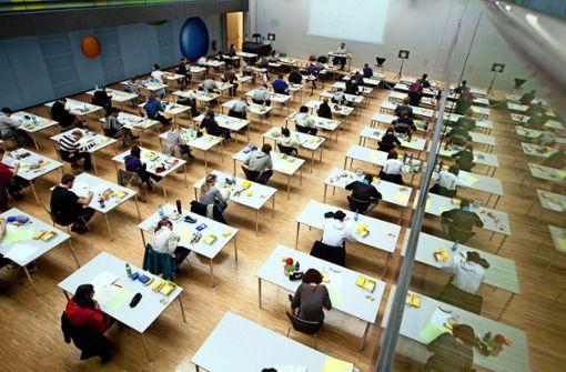 Fast alle Abiturienten  treten zum Haupttermin an