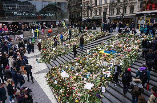 Schweden: Fünftes Todesopfer nach Terroranschlag in Stockholm