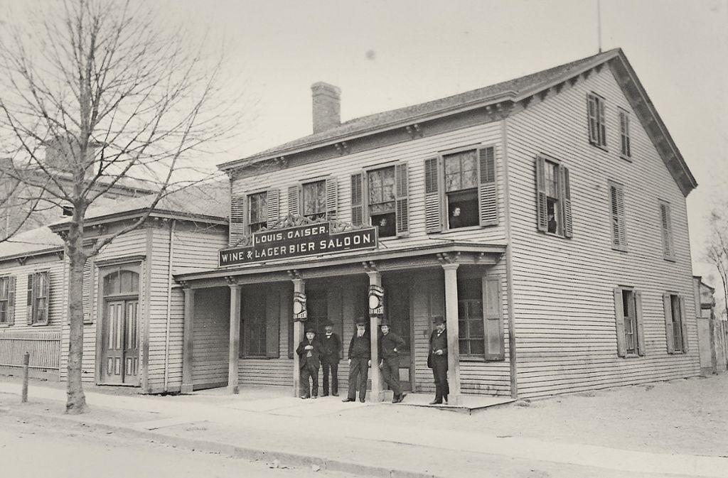 Der Göppinger Kaufmann Karl Ludwig Gaiser wurde Inhaber eines Saloons in New York. Foto: Privatbesitz