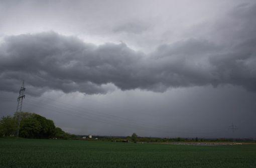 Gewitter und schwere Regenfälle ab Freitagmittag