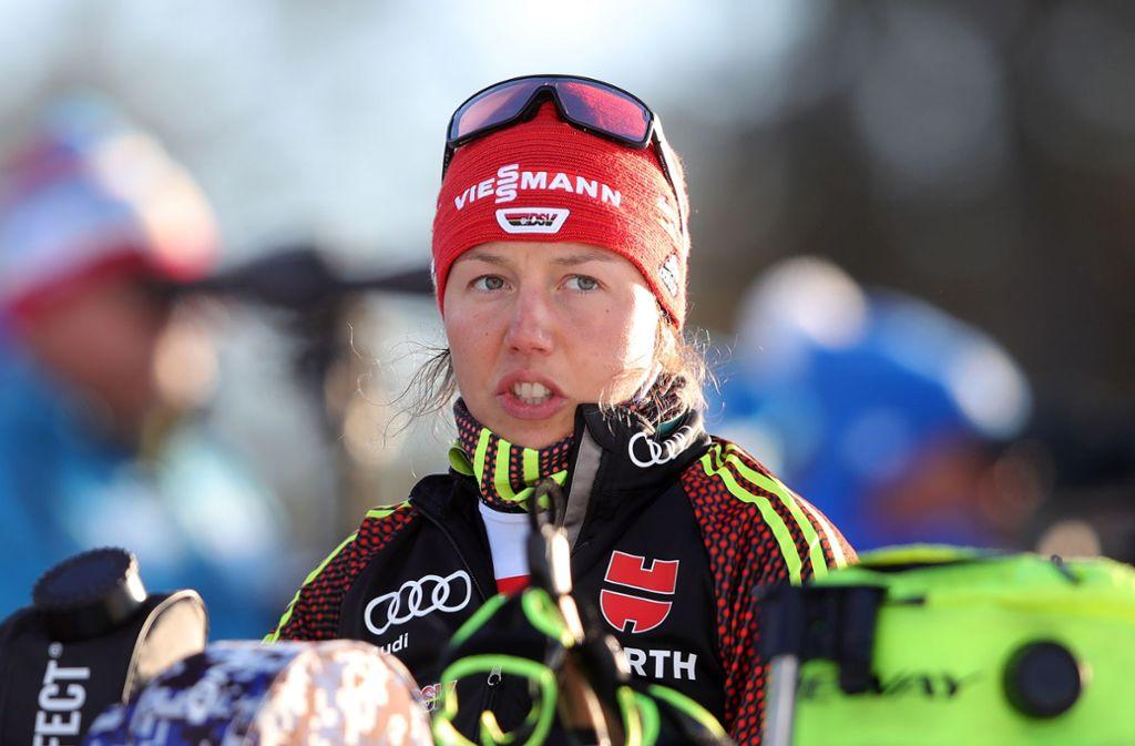 Laura Dahlmeier hat gesundheitliche Probleme. Foto: Getty