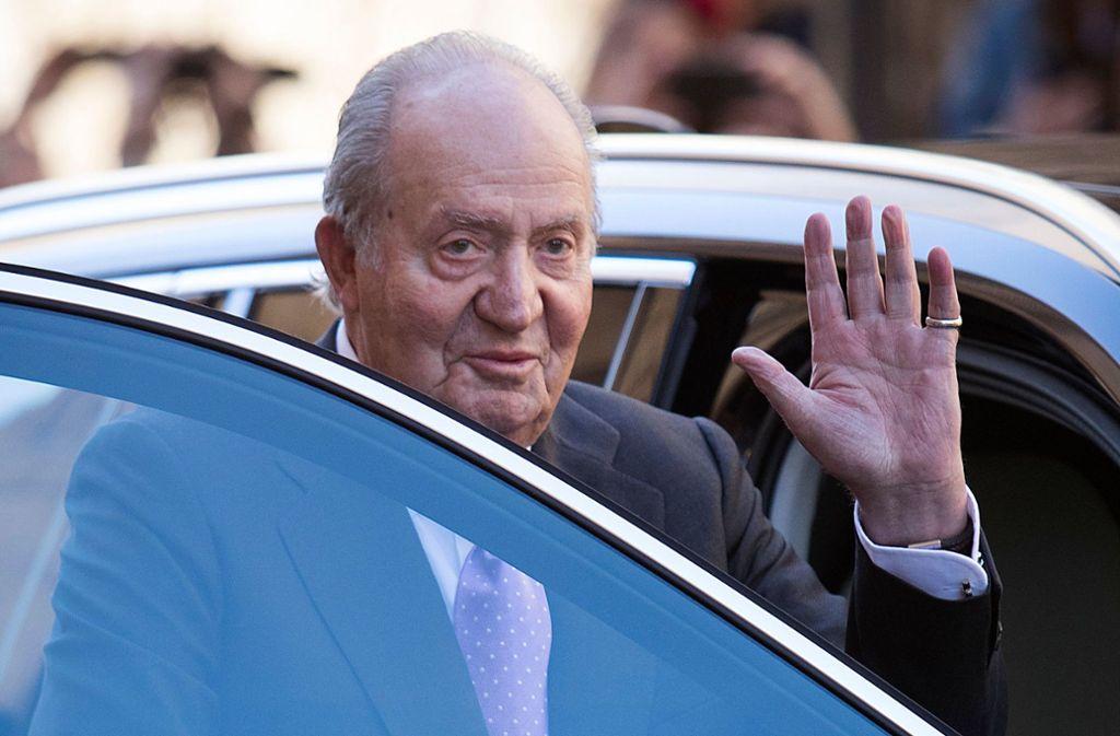 Fünf Jahre nach seiner Abdankung zieht sich der spanische Ex-König formell aus dem öffentlichen Leben zurück. Foto: AFP