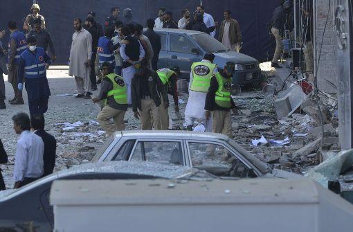 Mehrere Tote und Verletzte bei Explosion in Lahore
