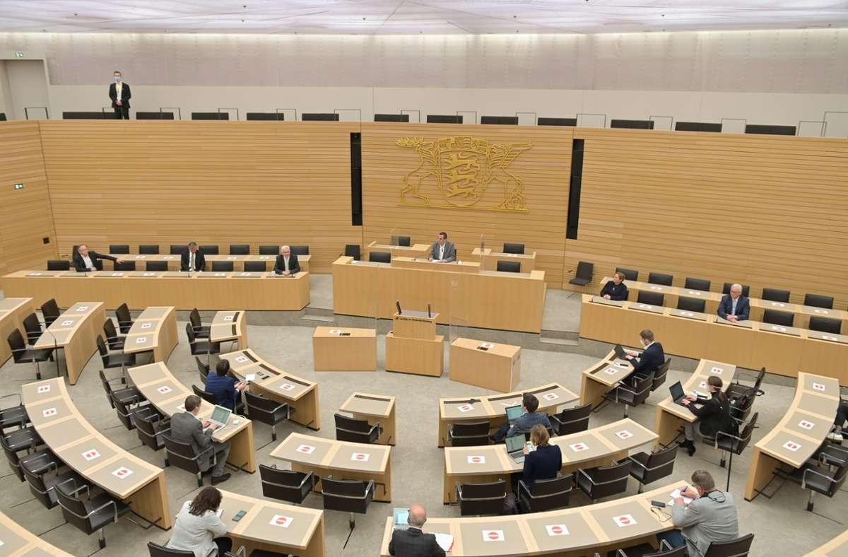 Für einige kleinere Parteien bleibt der Landtag von Baden-Württemberg vorerst unerreichbar – insgesamt haben diese Vereinigungen aber mehr als zwölf Prozent der Stimmen geholt. Foto: Lichtgut/Leif Piechowski