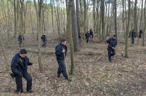 Polizei will Suche nach Rebecca in Wald fortsetzen