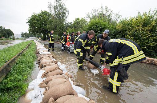 Das Wasser in Hildesheim steigt wieder