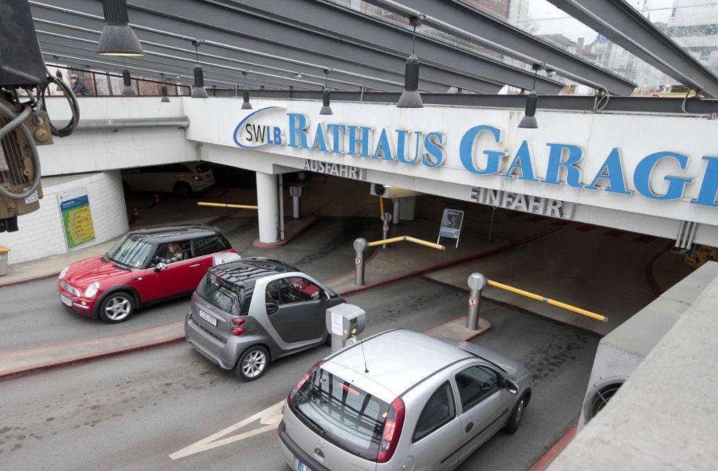 In den städtischen Parkhäusern gelten bis auf weiteres unveränderte Tarife. Foto: factum/Archiv