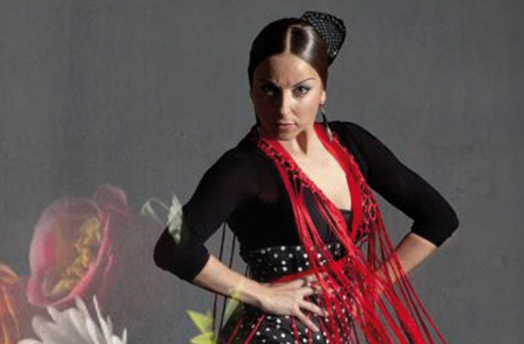 "Szene aus der Flamenco-Produktion ""Vecinos – Nachbarn"" Foto:"