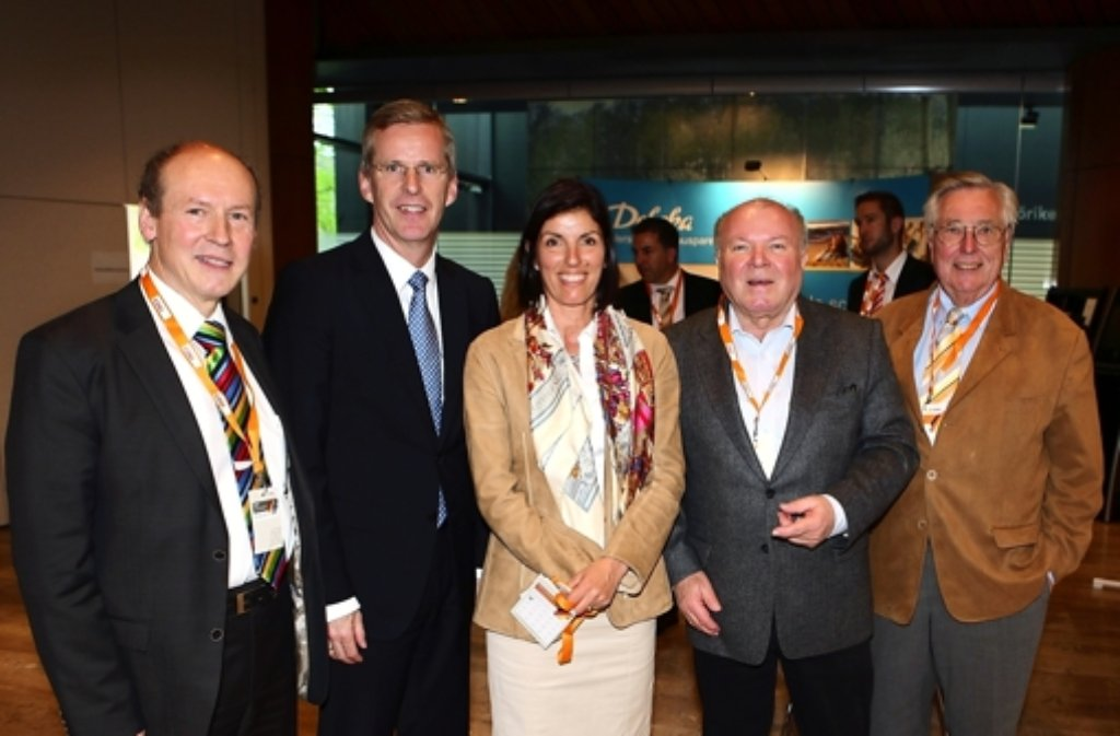 Peter Hinz (links) zieht überraschend in den Bundestag ein. Foto: