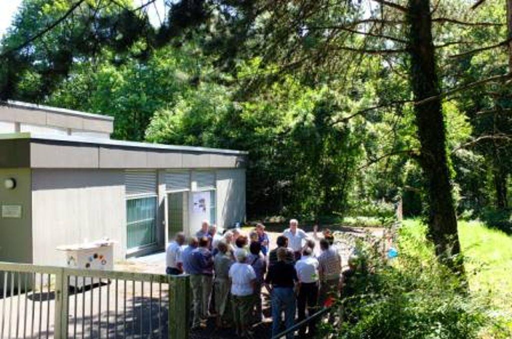 Bereits zum zweiten Mal in diesem Jahr bieten die Stadtwerke Bietigheim-Bissingen (SWBB) eine Führung zum Wasserhochbehälter Fürstenstand in Bietigheim-Bissingen an.  Foto: SWBB