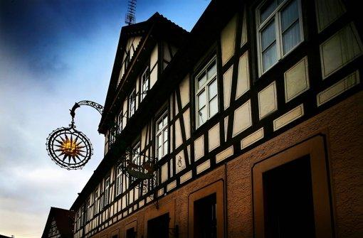 Eigentlich hätte die Alte Post in Murrhardt abgerissen werden sollen. Foto: Stoppel/Archiv