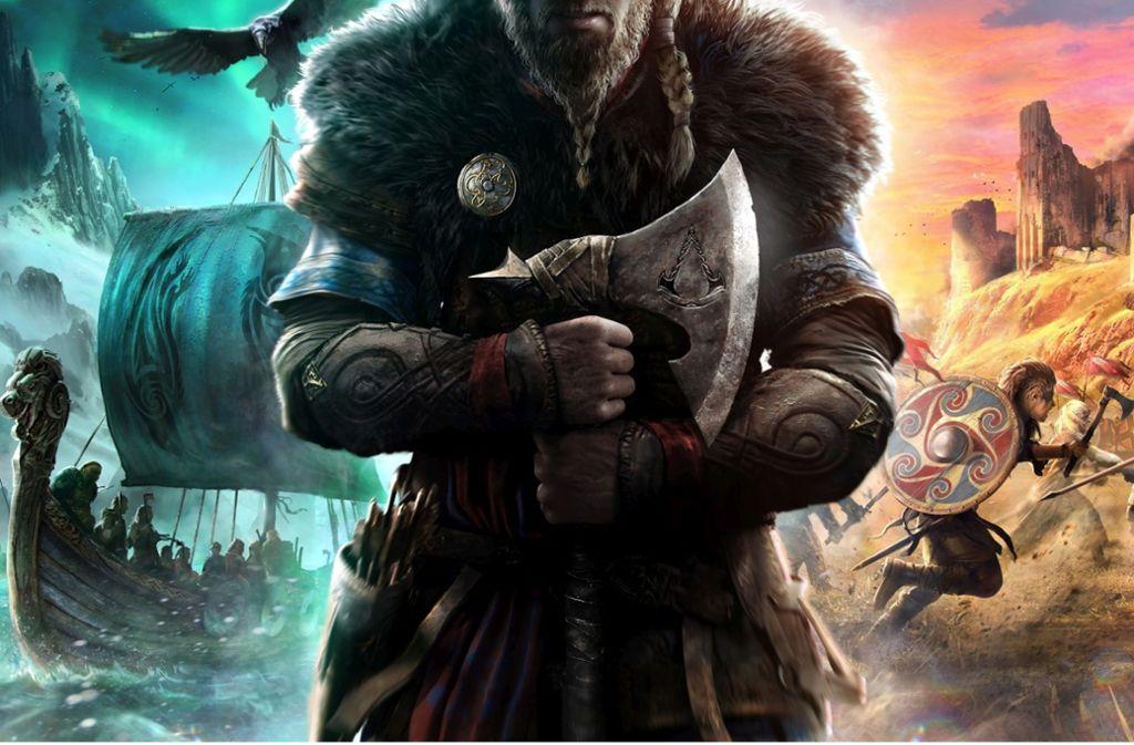 Ubisoft hat Assassin's Creed Valhalla angekündigt, dass im Zeitalter der Wikinger spielen wird. Foto: Ubisoft