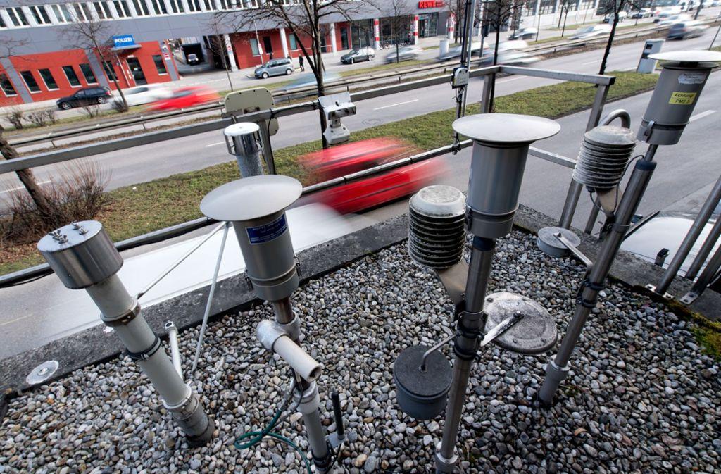 Stuttgart darf Diesel-Fahrverbote aussprechen. Foto: dpa