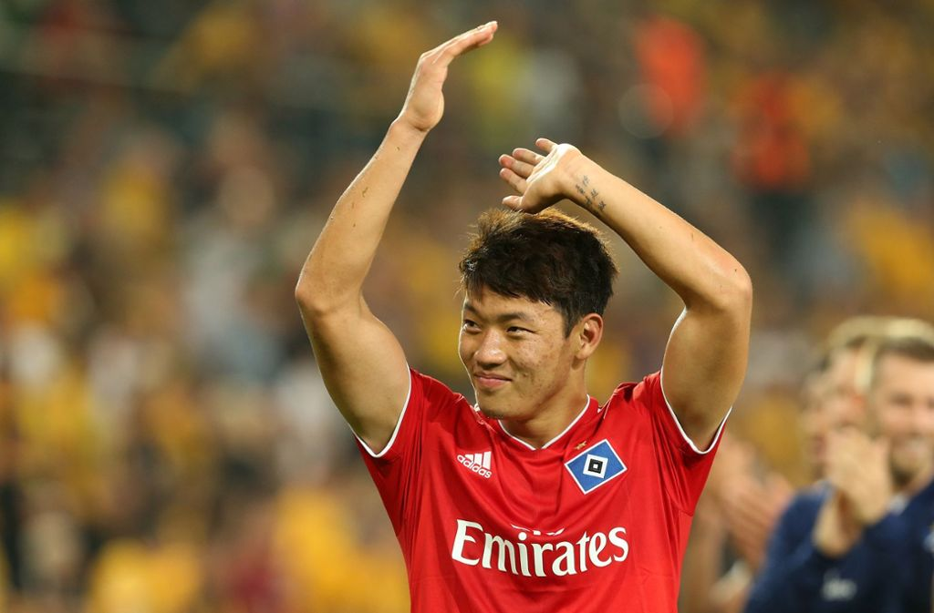 Hee Chan Hwang erzielte das Tor des Tages. Foto: Bongarts