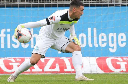 Ramon Castellucci kehrt ins Tor der Stuttgarter Kickers zurück