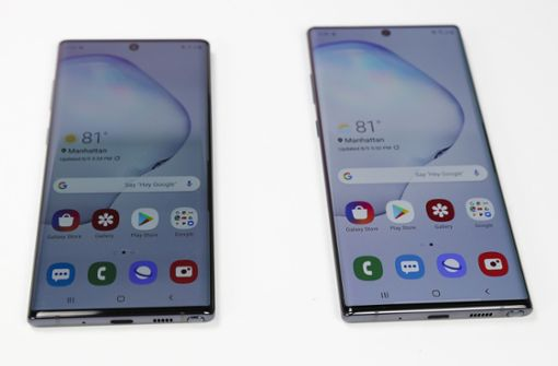 Neues Smartphone Galaxy Note 10 angekündigt