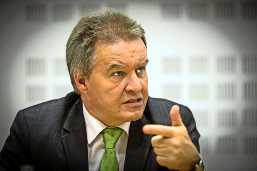 Minister Franz Untersteller (Grüne) will in der Bundespolitik mitmischen und die Umweltministerkonferenz dafür nutzen. Foto: Zweygarth