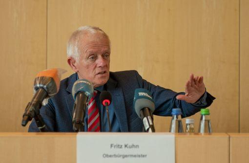 OB Fritz Kuhn wendet sich mit eindringlichem Appell an Bürger