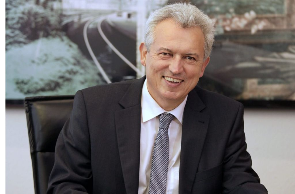 Oberbürgermeister Bernhard Schuler ruft zum Wählen auf. Foto: red