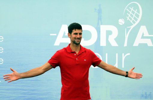 """Novak Djokovic initiiert """"Adria-Tour"""" für den guten Zweck"""