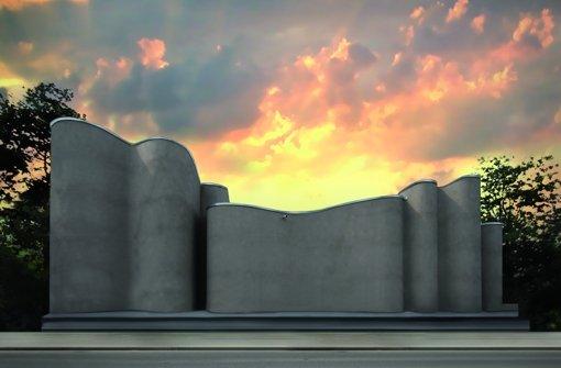 Eine Trutzburg im Dienste der modernen Kunst