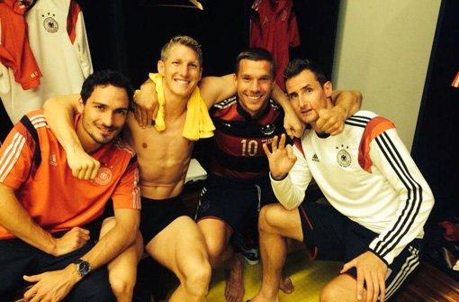 Twitter-Reaktionen von Poldi und Co.
